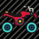 automobile, bike, motorcycle, quad, transportation, vehicle