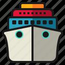 cargo, cruise, ship, travel, vacation, vehicle, yacht
