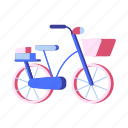 bicycle, bicycling, bike, recreation, travel icon
