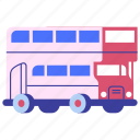 bus, public transport, transportation, travel, vehicle icon