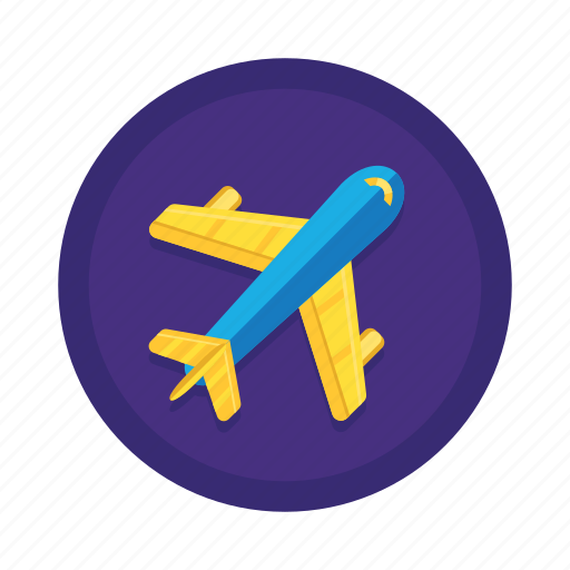 aeroplane, airplane, flight, fly, transport, travel icon