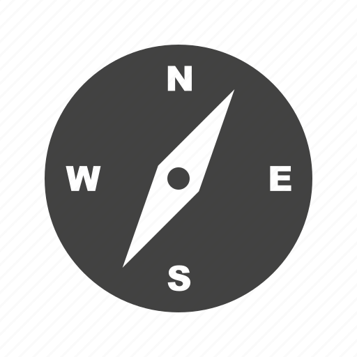 compass, direction, equipment, latitude, measurement, navigation, travel icon