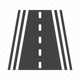 highway, lane, road, speedway, traffic, travel, way icon