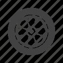 car, circle, rim, rubber tire, tire, transport, wheel