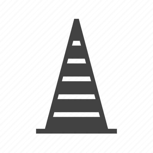 barrier, cone, equipment, object, obstacle, traffic cone, transportation icon