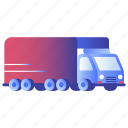cargo, container, logistics, lorry, transportation, truck, vehicle