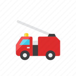 2, fire, truck icon