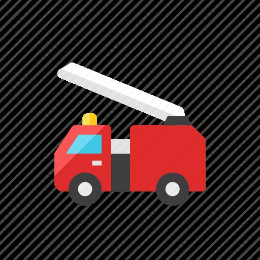 2, fire, truck icon