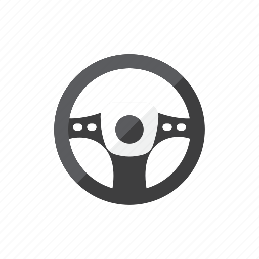 steering, wheel icon