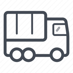 cargo, heavy vehicle, lorry, transportation, truck icon