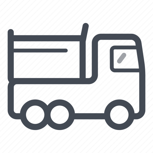 construction, lorry, transportation, vehicle icon