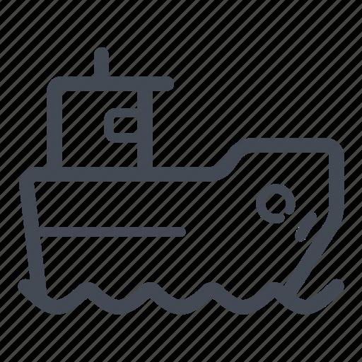 sea, ship, shipping cargo, transportation icon