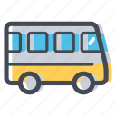 bus, bus route, city transport, public transport, school bus, transportation, vehicle icon