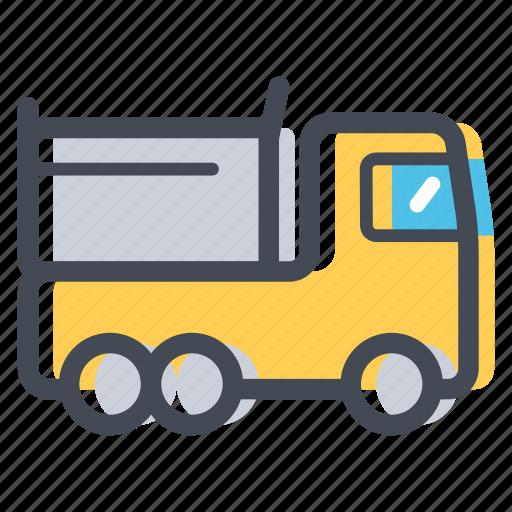 construction, lorry, transportation, vehicle icon