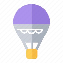 air, air balloon, balloon, hot air balloon, transportation icon