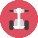 electric, scooter icon