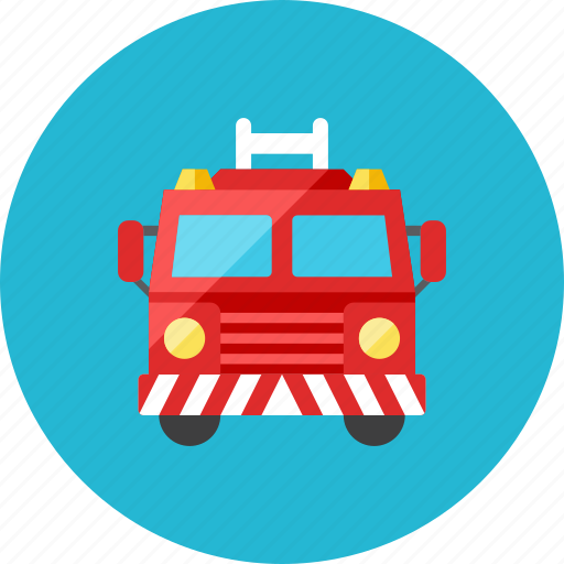 fire, truck icon