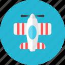 plane, propeller icon