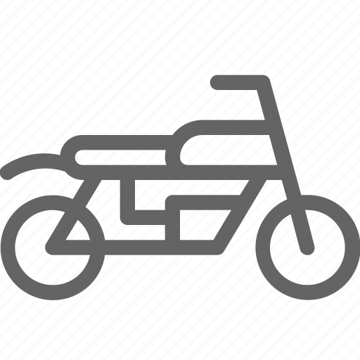 bike, motorbike, motorcycle, vehicle icon