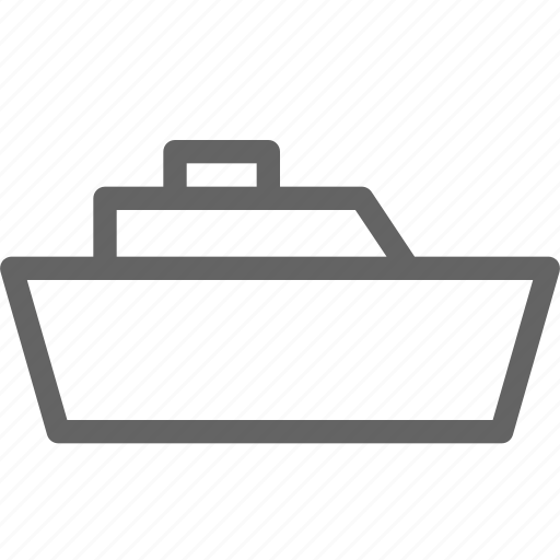 boat, ferry, ship, yacht icon