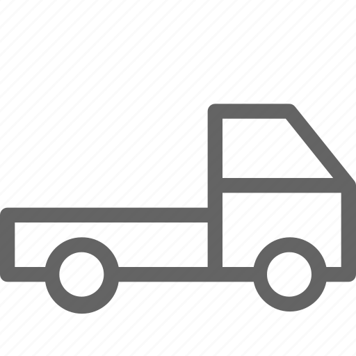 lorry, transport, truck icon