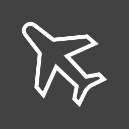 aeroplane, aircraft, aviation, flight, plane, travel icon