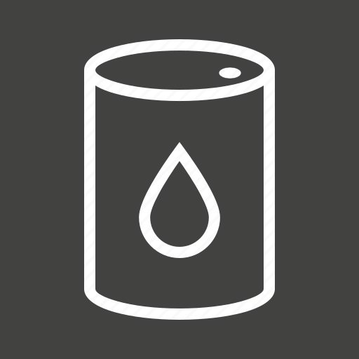 barrel, can, drop, fuel, gasoline, oil, tank icon
