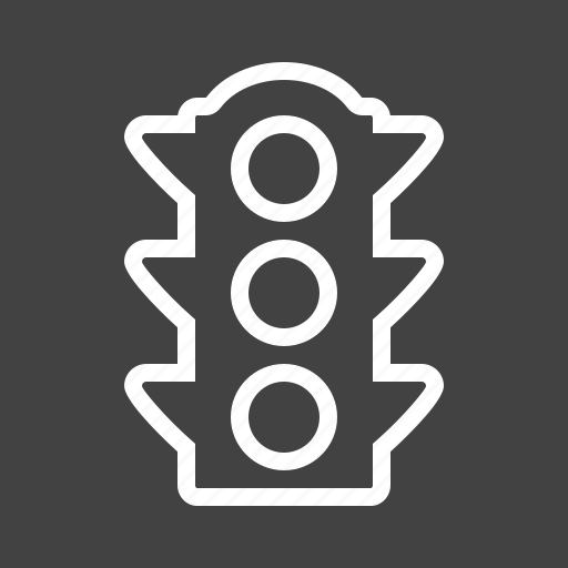 light, road, sign, signal, stop, traffic, transportation icon