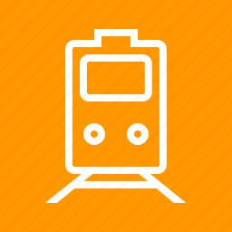 engine, lorry, rail car, railway, track, trasnport, vehicle icon