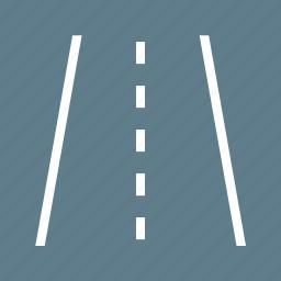 highway, lane, path, road, transportation, travel, way icon