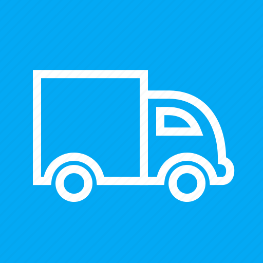 automobile, delivery, lorry, transportation, truck, van, vehicle icon