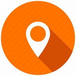 destination, direction, gps, location, map, pin, pointer icon