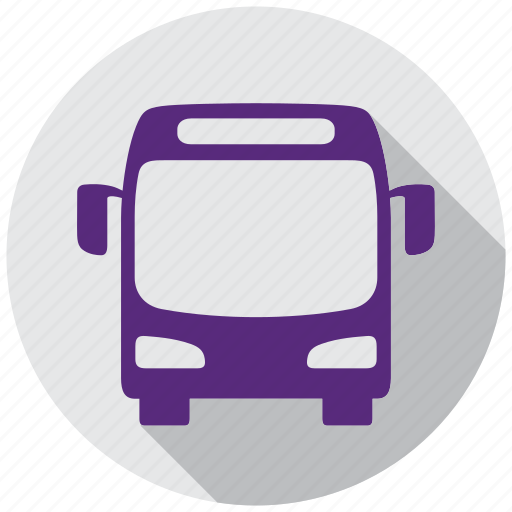 autobus travel, bus, directions, gps, map, navigation icon