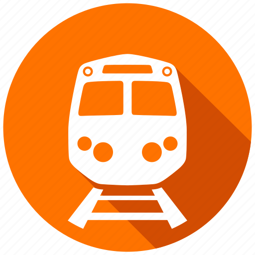 directions, gps, map, navigation, rail, train, travel icon
