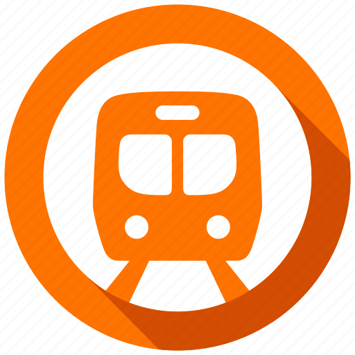 direction, metro, navigation, subway, train, transport, transportation icon