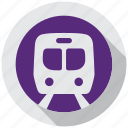 directions, metro, navigation, subway, tain, transportation, underground icon