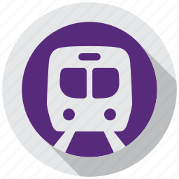 directions, metro, navigation, subway, tain, transportation, underground icon