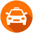 cab, directions, map, navigation, taxi, transportation, travel icon