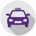 directions, map, taxi, transportation, yellow cab, navigation, vehicle icon