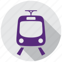 gps, map, navigation, train, tram, transportation, travel icon