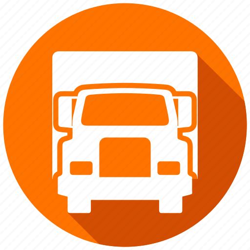directions, driving, gps, map, navigation, truck, vehicle icon
