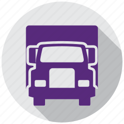 directions, gps, map, navigation, transportation, truck, vehicle icon