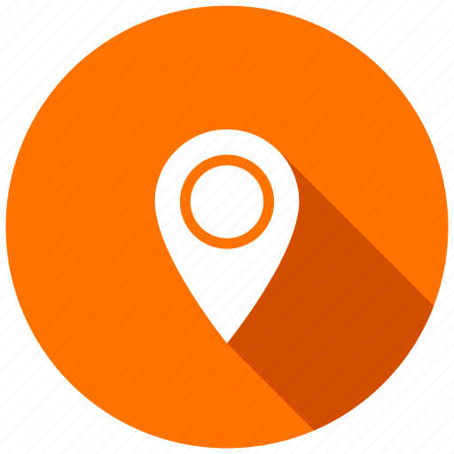 directions, gps, here, location, map, navigation, pin icon