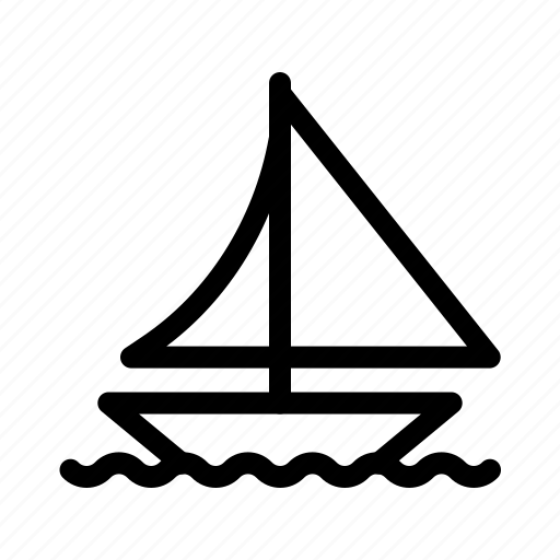 Boat, sail, ship, shipping, transportation icon - Download on Iconfinder