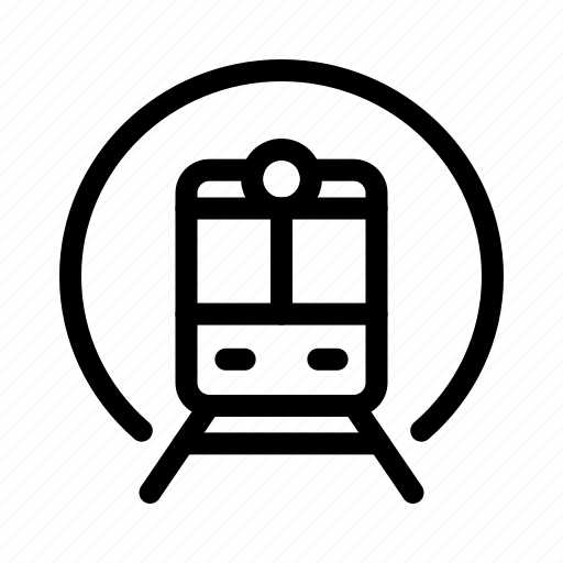 metro, train, transport, vehicle icon
