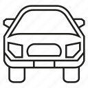 car, carry, convey, transport, vehicle icon