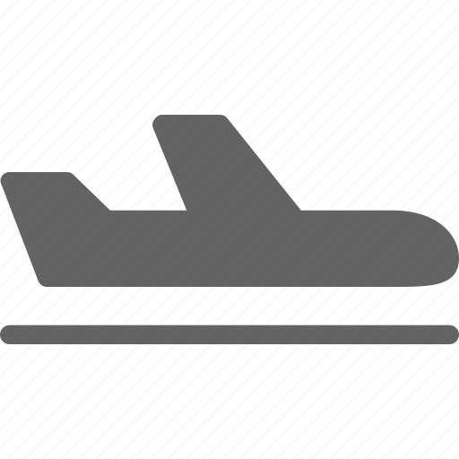 aircraft, airplane, plane icon
