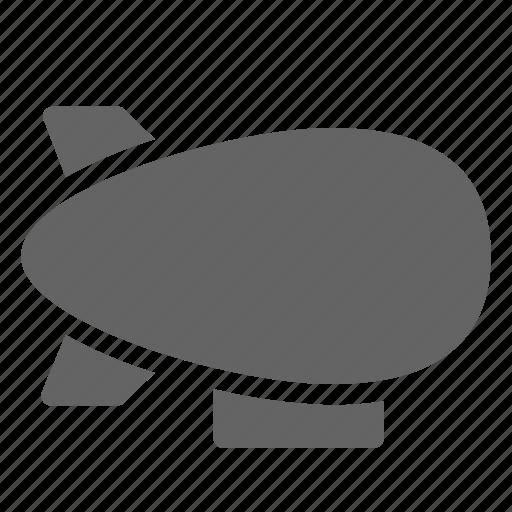 airship, balloon, dirigible, zeppelin icon
