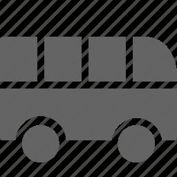 bus, transportation, travel icon