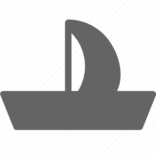 Boat, sailboat, ship, sail icon - Download on Iconfinder